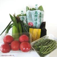 高冷な飛騨の大自然で育った新鮮な地野菜を詰合せました。すべて飛騨産のとうもろこし、大なす、トマト、長...