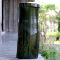 飾り竹炭用ハツリ竹筒は、インテリアにピッタリなオブジェ。極太孟宗竹の大迫力!飾り竹炭を入れて玄関や和...
