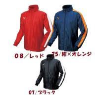 【特徴】  ●プーマのサッカー用に作られた暖かい裏短起毛のウィンドブレーカージャケットです。  ...