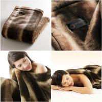 超柔吸湿発熱保温素材「サーモ2000 Ultre Soft」を使用したふっくら感があるのに軽い掛け毛...