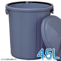 丸型ペール (ごみ箱/ゴミ箱) PM-45 収集日までたっぷり入る大容量のペール☆ 飲料水も入れるこ...