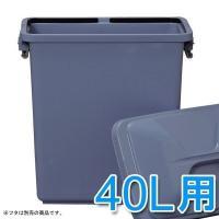 角型ペール (ごみ箱/ゴミ箱) PK-40  収集日までたっぷり入る大容量のペール☆飲料水も入れるこ...