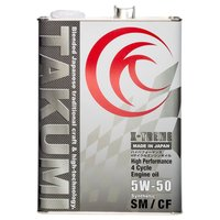 ・SAE粘度:5W-50  ・容量:4L ・API規格:SM/CF ・100%化学合成油(Synth...