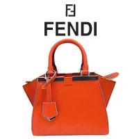 ブランド:FENDI(フェンディ) 商品番号:8bh333-5c3 素材:レザー カラー:オレンジ系...