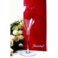 バカラ【シャンパーニュ】フルートグラス足の下に名入れ彫刻する