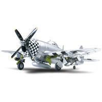 ●送料610円 アメリカ軍飛行機モデル 組立式プラモデルです 完成時の全長230mm、全幅259mm...