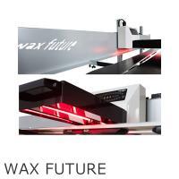WAXFUTUR赤外線の効果によりワックスが滑走面に深く浸透しより長く継続します。    より滑走性...