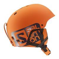 SALOMONサロモン スキーヘルメット    ■BRIGADE /L37776300〔Orange...