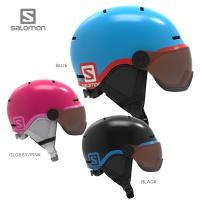 SALOMON サロモン ジュニア スキーヘルメット    ■GROM VISOR  〔グロムバイザ...