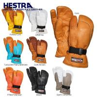 HESTRA ヘストラ スキーグローブ    ■30872 3-FINGER FULL LEATHE...