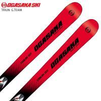 OGASAKA オガサカ ジュニア スキー板 <2021>TRIUN トライアン G.TEAM + SX10 GW BK/WT/RD + PowerProPlate9 ビンディング セット 取付無料 20-21