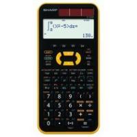 シャープ スタンダード関数電卓 10桁 ハードケース付 イエロー EL-509M-YX 1台