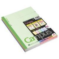コクヨ キャンパスノート(カラー表紙) セミB5 A罫 30枚 5色(各色1冊) ノ-3CANX5 1パック(5冊)