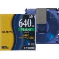 メーカー:SONY 品番:EDM-640CDF 640MB・Windowsフォーマット