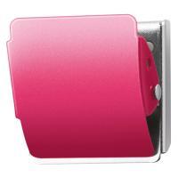 メーカー:プラス   品番:CP-040MCR ピンク   ゴム素材がスチール面にフィット。軽い力で...