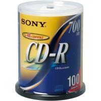 メーカー:SONY 品番:100CDQ80DNS 高信頼、人気のSONYブランドCD−R。