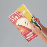 メーカー:ノーブランド 品番:ベ568 A4判の書籍が保護できるブックカバー。