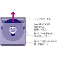マクセル 不織布ケース インデックス式 片面収納 ホワイト FBDIS−50WH 1パック(50枚) tanomail 02