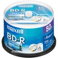 メーカー:マクセル  品番:BRV25WPE.50SP  テレビ放送録画用4倍速対応BD-R