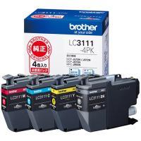 ブラザー インクカートリッジ 4色パック LC3111-4PK 1箱(4個:各色1個)