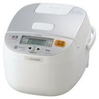 メーカー:象印   品番:NL-BA05-WA   小容量3合炊き、ハイパワー495W豪熱沸とうを搭...