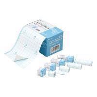メーカー:NICHIBAN 品番:CAPFS1010 伸縮性に優れた防水フィルムロール。皮ふに密着し...