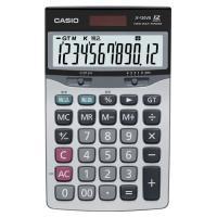 カシオ 本格実務電卓 12桁 ジャストサイズ JF−120VB−N 1台|tanomail
