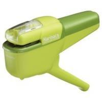 コクヨ 針なしステープラー(ハリナックス) ハンディタイプ 10枚とじ 緑 SLN−MSH110G 1個|tanomail