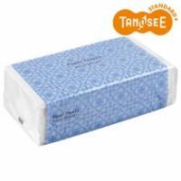 TANOSEE ペーパータオル(レギュラー) 200枚/パック 1セット(5パック)