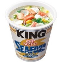 日清食品 カップヌードル シーフードヌードルキング 128g 1ケース(12食)|tanomail
