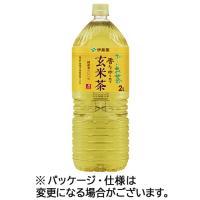伊藤園 おーいお茶 炒りたて玄米茶 2L ペットボトル 1セット(12本:6本×2ケース)