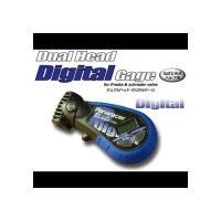 サイズ:105mm x 50mm(仏式・米式バルブ兼用)   付属品:ボタン電池(CR2032)  ...