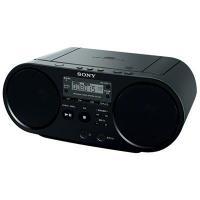 ●ソニー ZS-S40-B CDラジオ(ブラック)