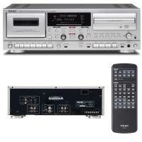 ●独立駆動するCD レコーダーとカセットレコーダーに豊富な入出力を装備し、様々な音源をCD に録音、...
