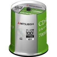 ●三菱化学メディア SR80FC100D5 CD-R(Data) 1回記録用 80分 48倍速対応 ...