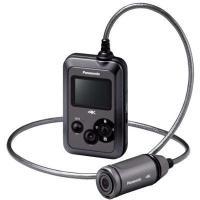 ●パナソニック HX-A500-H マイクロSD対応 3.0m防水・防塵対応4Kウェアラブルカメラ ...