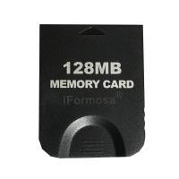 Nintendo Wii/GC ゲームキューブ用 メモリーカード 128MB ブラック