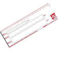 アクリル製 30cmの定規としてご利用いただけます。3cmの穴は21cmまでとなります。A4サイズよ...