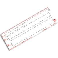 レターパックライト スケール 定形郵便、1cm, 2cm, 3cm小型郵便物の厚さが測定できます。3...