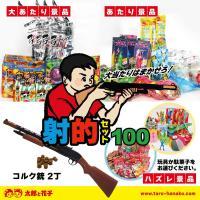 内容 コルク銃 2丁 コルク玉 24個  景品100個 【内訳】 大当たり10個 当たり20個 はず...