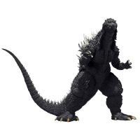 4月新発売のバンダイのS.H.MonsterArts ゴジラ×メカゴジラ ゴジラ (2002) 約1...