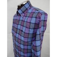 マクレガー(McGREGOR)・ツイル起毛チェックボタンダウンシャツ