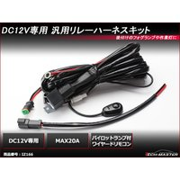 ■商品コード  IZ166  ■定格  DC12V MAX20A  ■数量  1セット(ワイヤードリ...