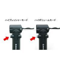 ジャイアント/GIANT 自転車 空気入れ 携帯ポンプ (仏式/米式)2段階モード切替機能付き|technical-inc|03