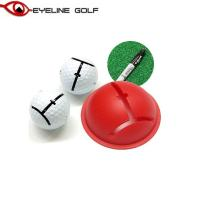 アイラインゴルフ インパクトボールライナー ELG-BL32 パッティング練習器 メール便対応可(260円)