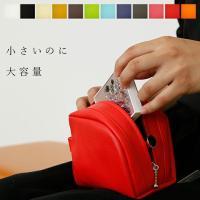 コスメポーチ|レザーポーチ【POCO】 化粧ポーチ   国産高級PVCを使用した、コスメ用品がたくさ...