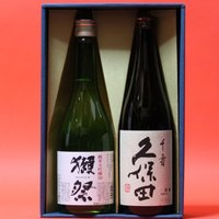 商品は、退職祝 獺祭(だっさい)純米大吟醸 磨き50 + 久保田 千寿 720ml 日本酒 飲み比べ...