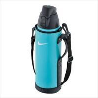 ハンディポーチ&ショルダーストラップ付きの保冷専用ボトル。ナイキハイドレーションボトル。魔法びん構造...