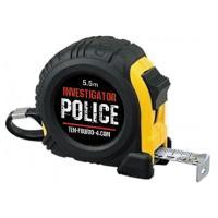 10-4.comオリジナル商品です。コンベックス(メジャー)です。 POLICEのロゴ入り (どなた...