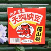 極小粒パック納豆1個(からし・たれ付) ~創業100年 水戸納豆の老舗「水戸元祖 天狗納豆」~
